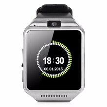 บลูทูธสมาร์ทนาฬิกานาฬิกาข้อมือGV08สนับสนุนซิมการ์ดสำหรับSamsung S2/S3/S4/หมายเหตุ2/หมายเหตุ3 HTCโซนี่และA Ndroidโทรศัพท์