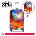Dispalang brand design elastic thick luggage protective dust covers for 18-30 inch trolley case oil painting suitcase rain cover