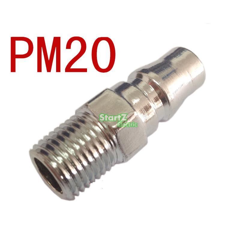 1//4 Thread Air Compressor Hose Quick Connect Tools 3 Sockets model 20