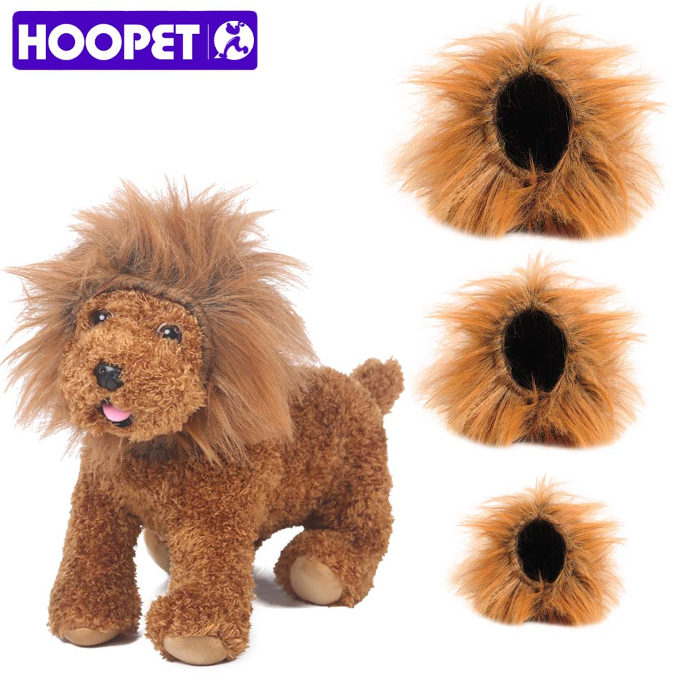 120c5b297 HOOPET Cat Funny Wig lion headgear Hat Cat Small Dog Collar Wig Warm Cat  Supplies Accessories Halloween Costume Pet Jewelry-in Dog Accessories from  Home ...