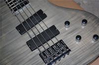 24 frets 5 strings electric bass guitar active pickups Free Shipping 1 2