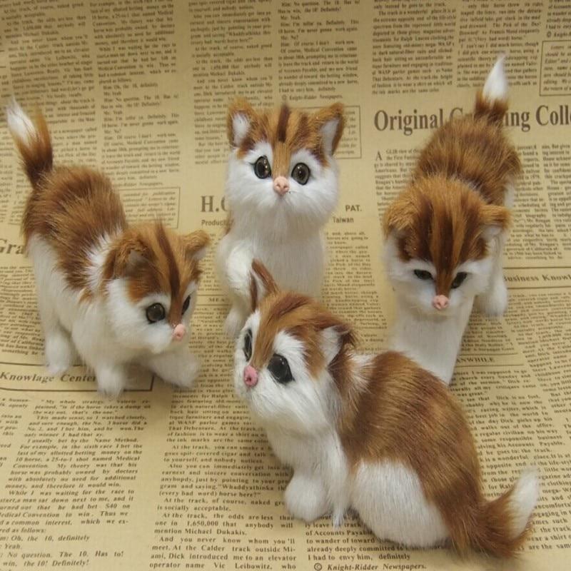 Zestaw czterech kotów, dział emulatorów rekwizytów - Wystrój domu - Zdjęcie 1