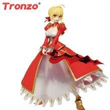 Tronzo Originale Taito Destino Gran Ordine FGO Sciabola Nero Claudio PVC Action Figure Giocattoli di Modello Fate Extra Red Saber Figurine regalo