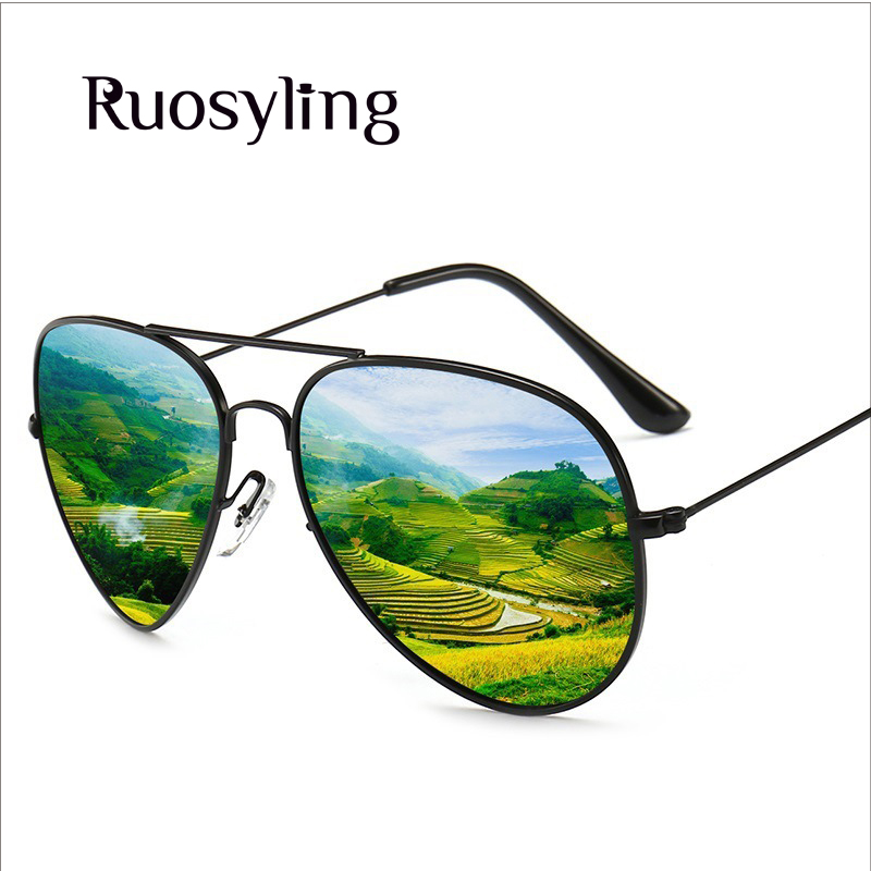 2019 Fashion Ruosyling Classic Pilot Sunglasses Women Male Polarized Sunglasses Men Female Uv 400 Sunglasses Vintage Adult Eewear Gafas A Great Variety Of Goods