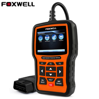 Full System Auto OBD Diagnostic Tool ABS SRS Airbag Crash Data EPB Oil Service Reset for VW BMW Toyota Hyundai FOXWELL NT510