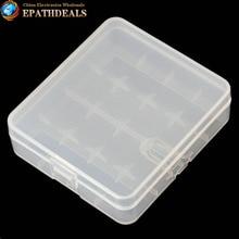 3pcs! Portable Hard Plastic 18650 Battery Holder Case Battery Storage Box for 4 x 18650 Batteries