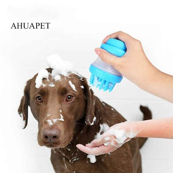 Bath Dog Wash Shower Head Spray Dog Shampoo Dog Bathing Tool Comb Cleaning Bath Massage Cat SPA Brush Multifunction Silicone 1