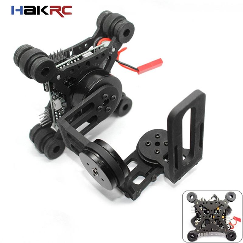 Brand New HAKRC Storm32 3 Axis Brushless Gimbal Lightweight Gopro3 Gopro4 FPV Fittings Accessory RC Quadcopter Parts gopro3 lightweight 2 axis brushless gimbal board with sensor free debug for fpv airplane rc quadcopter frame racing drones