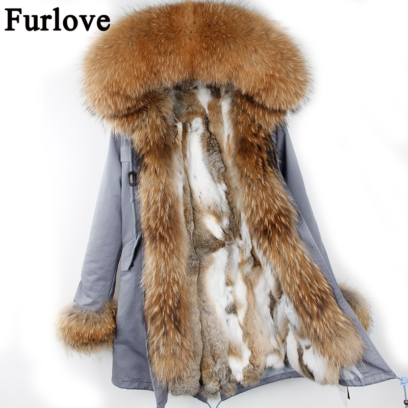 2017 long winter jacket women outwear thick parkas raccoon natural real fur collar coat hooded real warm rabbit fur liner coat plus size 2017 women outwear long camouflage winter jacket thick parkas raccoon natural real fur collar coat hooded pelliccia
