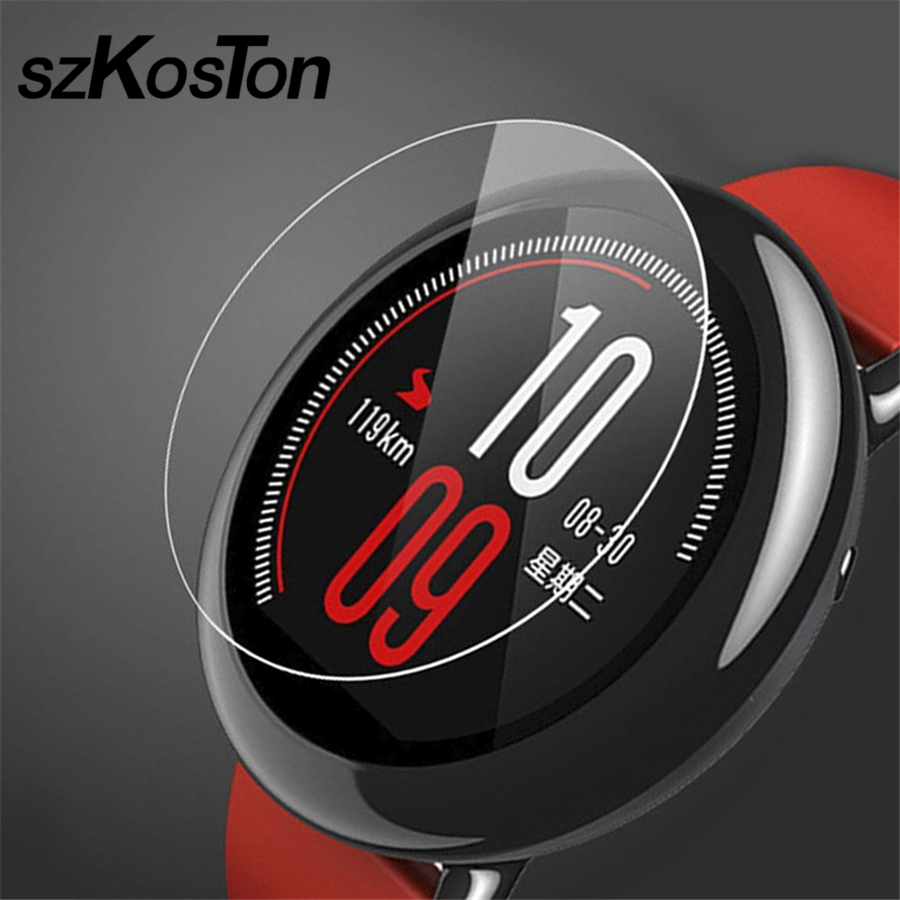 2 PCS/Lot For Xiaomi Huami Amazfit Pace Tempered Glass 9H Screen Protector Glass Film for Xiaomi Huami Amazfit Pace Smart watch boots bronx ботинки на каблуке page 6
