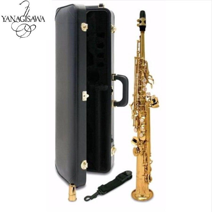 Nuevo Japón YANAGISAWA S901 B Saxofón Soprano plano de alta calidad instrumentos musicales YANAGISAWA Soprano envío profesional