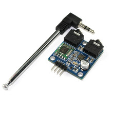 Buy online Free shipping 1pcs TEA5767 FM Stereo Radio Module for Arduino 76-108MHZ With Free Cable Antenna