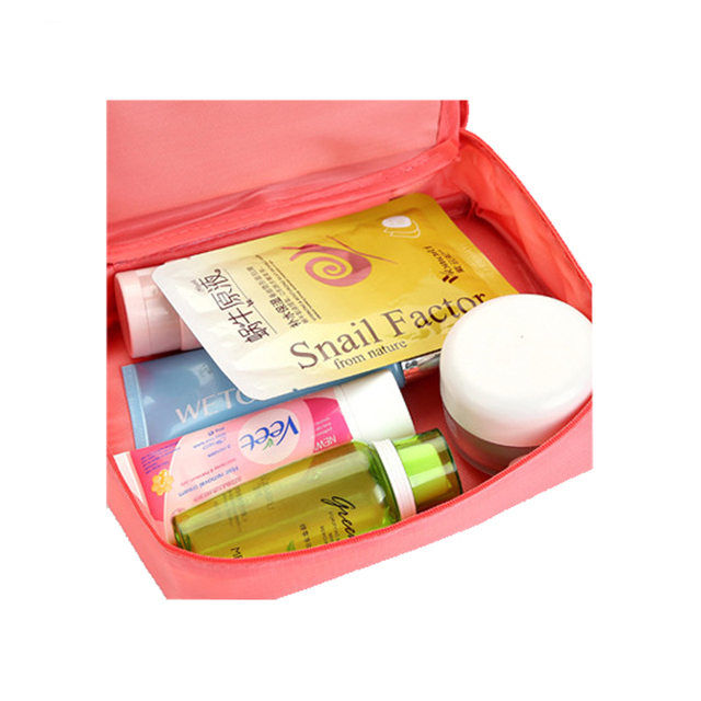 High Quality Portable Women Make Up Cosmetic Bag  3