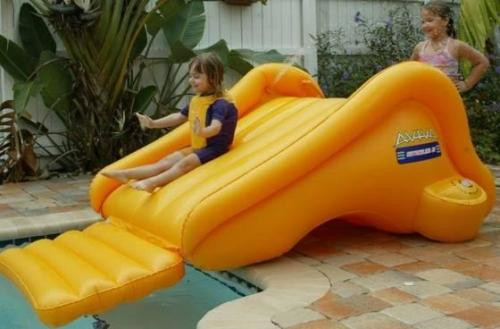 Selling world children inflatable slide, yellow diving slide new inflatable slide wave slide slide ocean hx 886