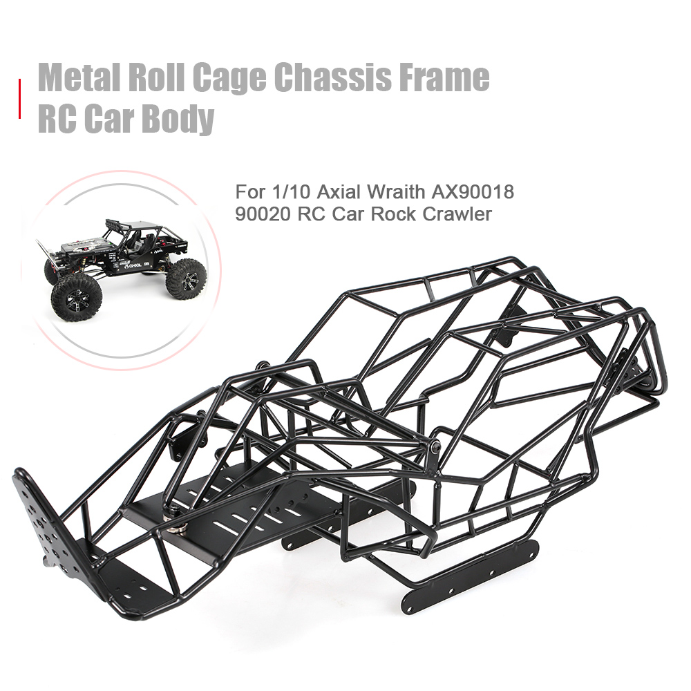 US $49 03 30% OFF|Metal Roll Cage Chassis Frame RC Car Body for 1/10 Axial  Wraith AX90018 90020 RC Car DIY Rock Crawler Parts-in Parts & Accessories