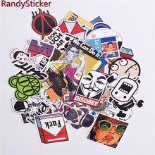 Doodle detector mixed accessory decals covers funny stickers sticker motorcycle styling