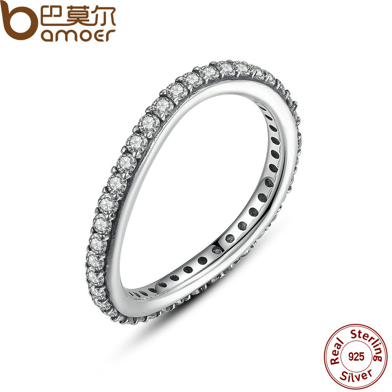infinity sterling silver rings diamond ring real jewellery