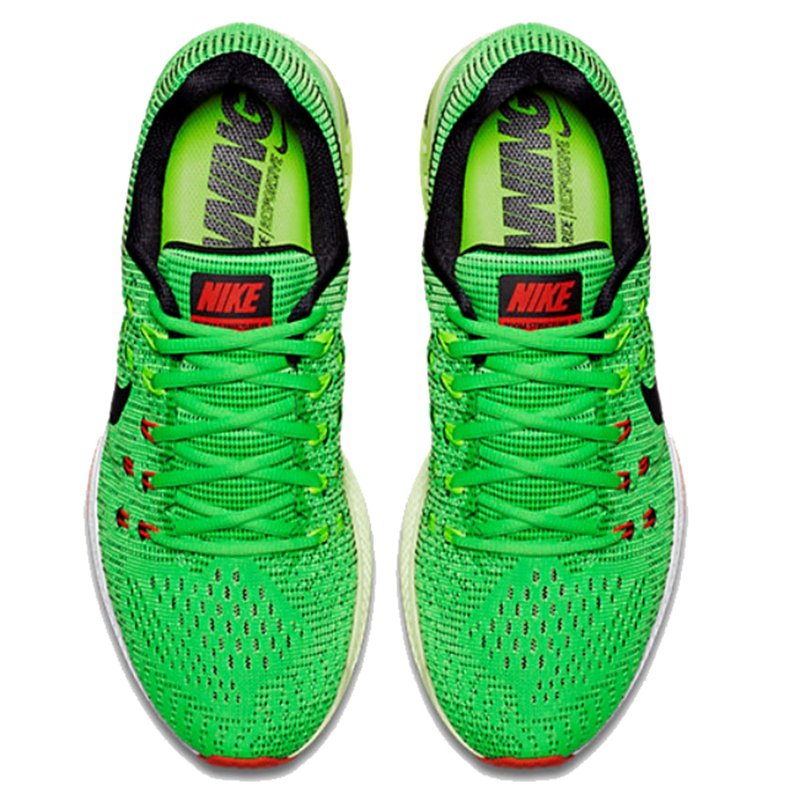 nike zoom structure 19 silver green