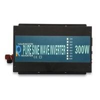 300 Вт Чистая синусоида Мощность инвертор Dc 12 В 24 В 48 В к Ac 120 В 220 В Зарядное устройство контроллер преобразователя автономных солнечных свето