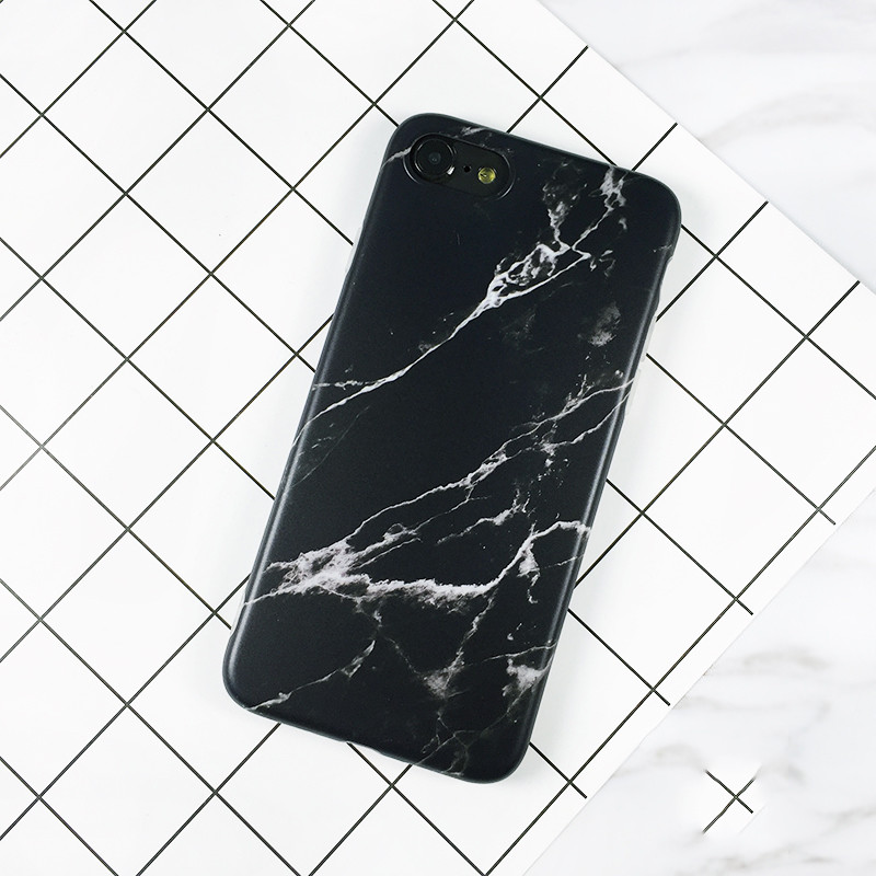 Waterproof Marble Patterned Phone Case for iPhone