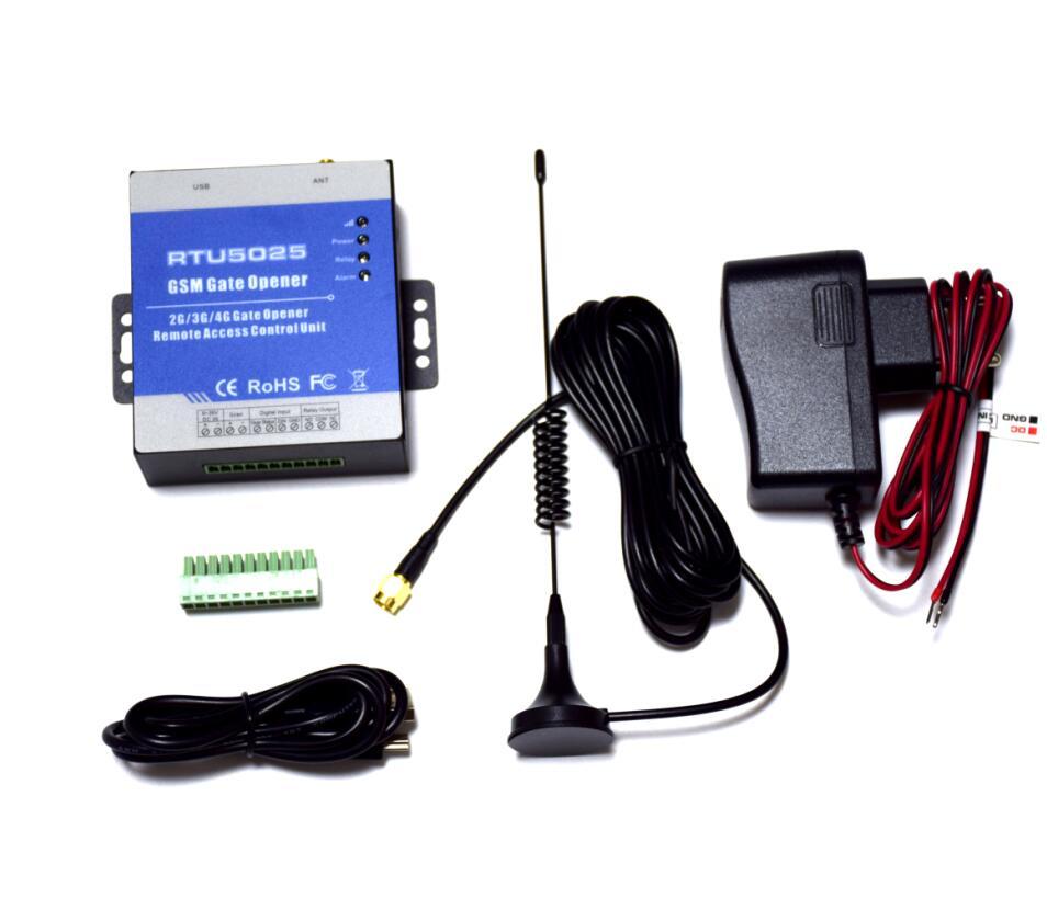 Badodo GSM 3G, abridor de puerta, acceso GSM, RTU5025 interruptor remoto, abridor de puerta deslizante de garaje, interruptor remoto, controlador de actuador
