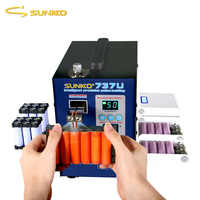 NIEUWE SUNKKO 737U Spot Lasser Machine 2.8KW Dubbele Puls Batterij Puntlassen Machine USB Opladen Test 18650 Batterij Lasser