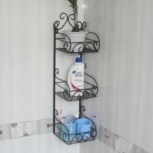 Предметы первой необходимости хранения стеллажи отделка рама кованого железа настенные полки ванная комната