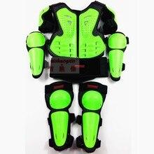 Мотоциклетная одежда для бездорожья, защитный костюм для детей, спортивный наколенник
