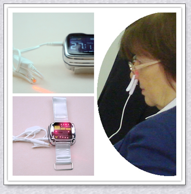 Digital high blood pressure laser therapy wrist watch for home use light therapy device wrist blood pressure small watch semiconductor laser therapy