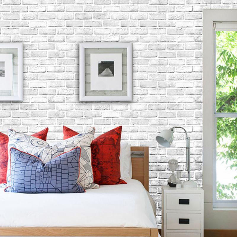 PVC Wall Stickers Wallpaper Self-Adhesion Peel-stick Waterproof Wall Art Mural Vinyl Wall Decal Applique Home Decoration
