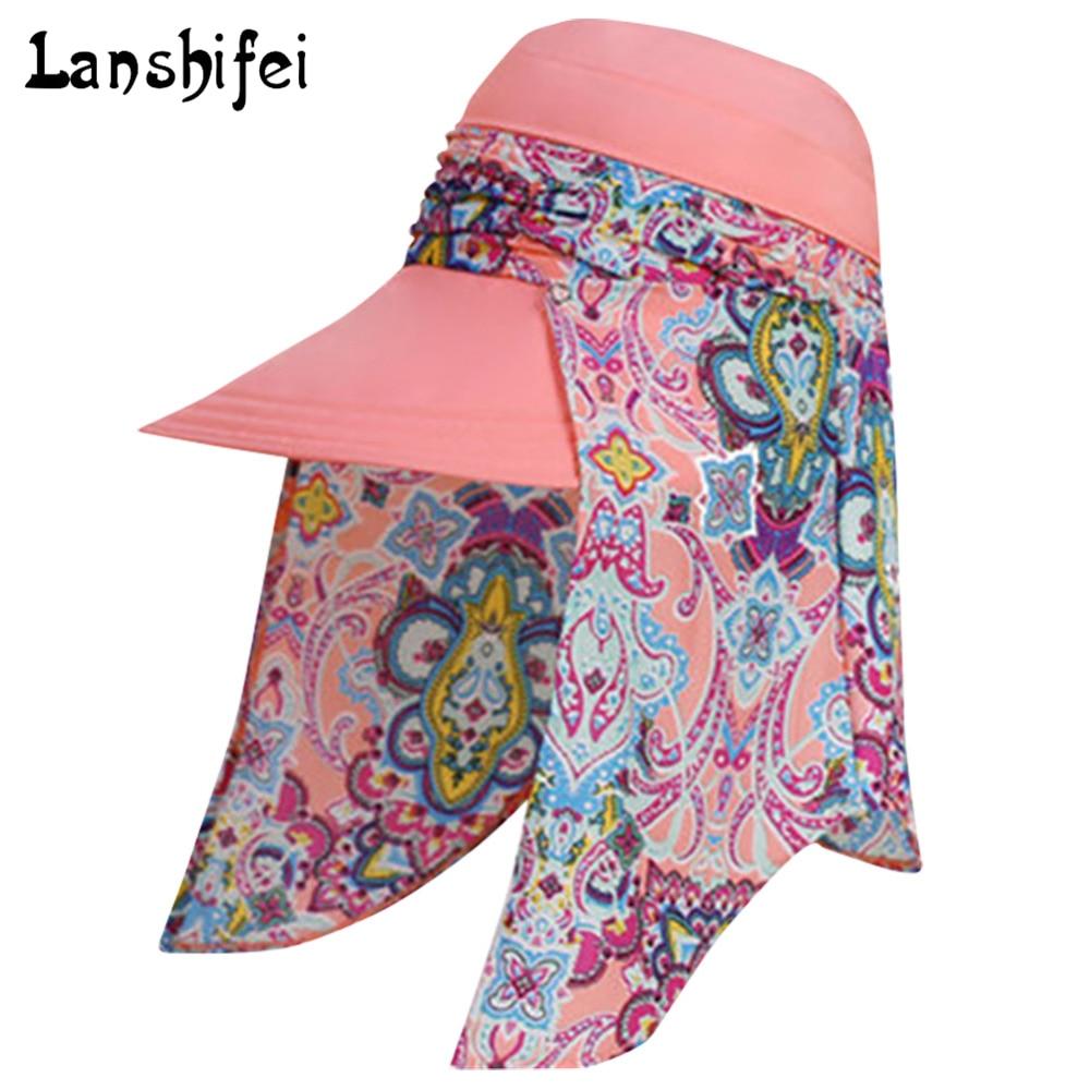 4c238a1fbc3 2017 Summer Style Women Foldable Wide Large Brim Floppy Beach Gorro Hats  Chapeu Outdoors Visors Cap Sun Collapsible Anti-Uv Hat