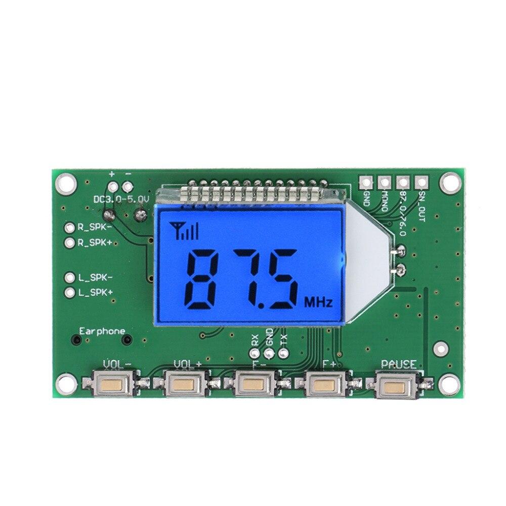 Le plus chaud 87-108 MHz DSP & PLL numérique sans fil Microphone stéréo Audio Module récepteur FM