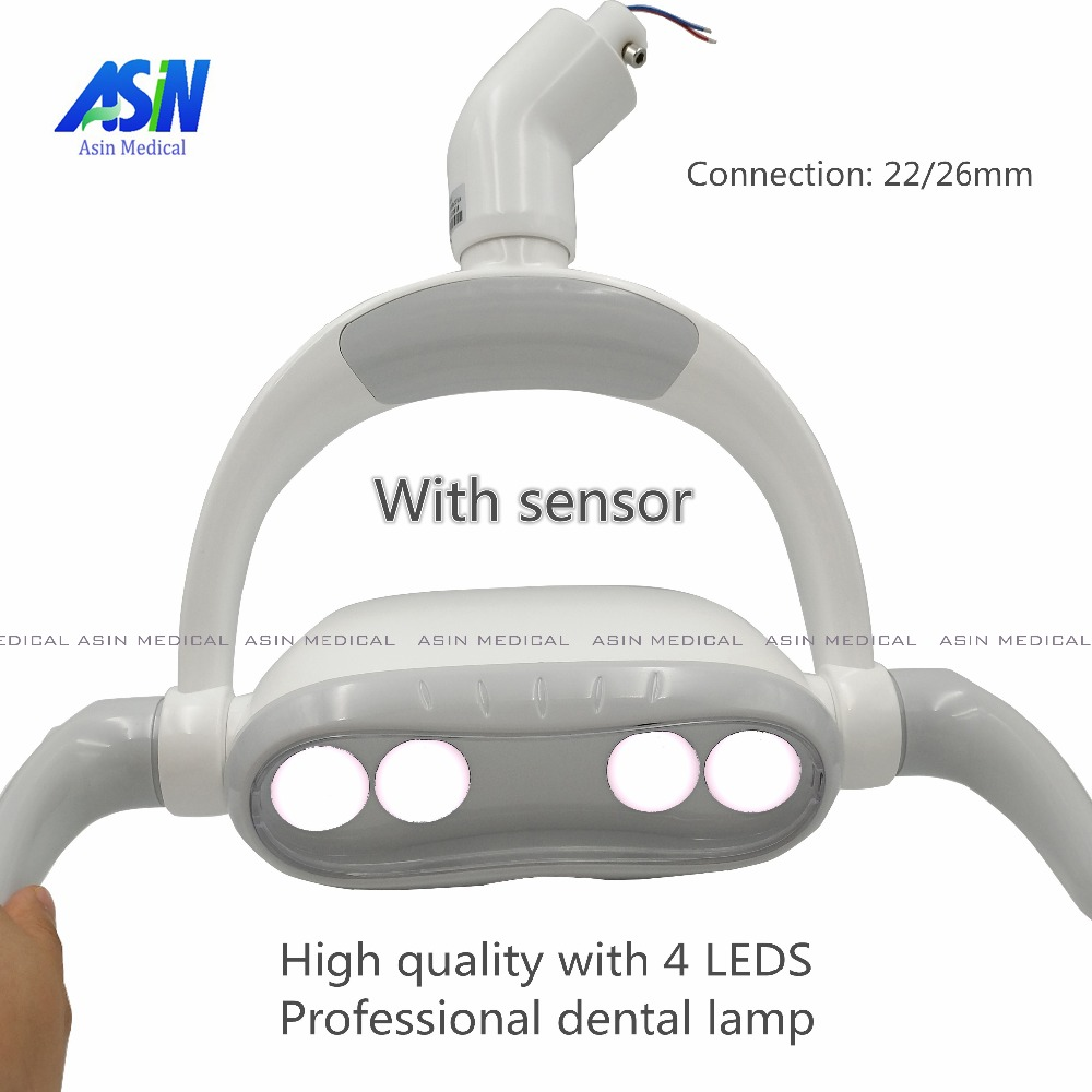 2017 new Dental LED Oral Light Induction Lamp For Dental Unit dental operation lamp dental led oral light induction lamp for dental unit teeth whitening joint size 22mm