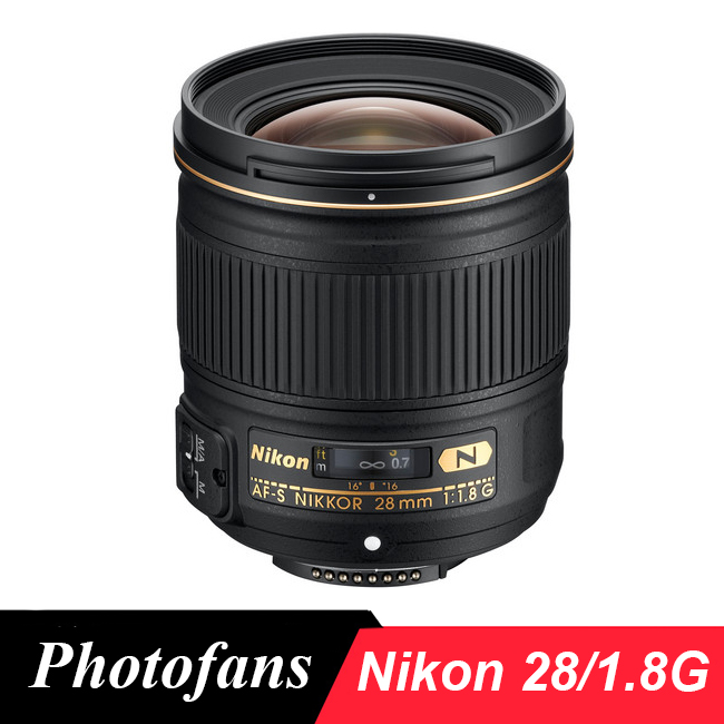 Nikon 28 1.8 G Lens NIKKOR AF-S  28mm f/1.8G Lenses for Nikon DSLR Camera
