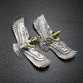 1 шт. EDC латунь Летающий орел форма кулон брелок кольцо DIY декоративные аксессуары EDC многоцелевой кулон