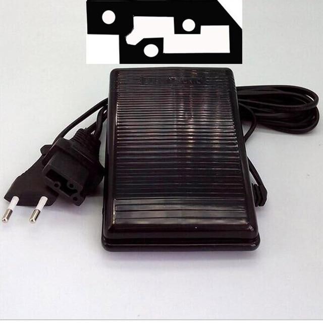 Singer Naaimachine Voetpedaal Pedaal 3 Pin Model YC 420 U W/Cord YDK BPP 345 200V 240V,0.5A, Eu Plug,Connector 31.44X13.89mm