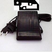Singer Sewing Machine Foot Control Pedal 3 Pin Model YC 420 U W/CORD YDK BPP 345 200V 240V,0.5A,EU Plug,Connector 31.44X13.89mm