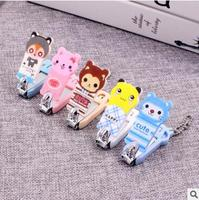 50pcs/lot Creative cartoon nail scissors cute nail clippers coupe ongle
