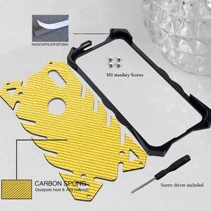Image 4 - Xiaomi mi 8 Case Aluminum Metal Bumper Shockproof Phone Case on for Funda Xiomi mi 8 se mi8 Case Armor Protection Case Cover Men