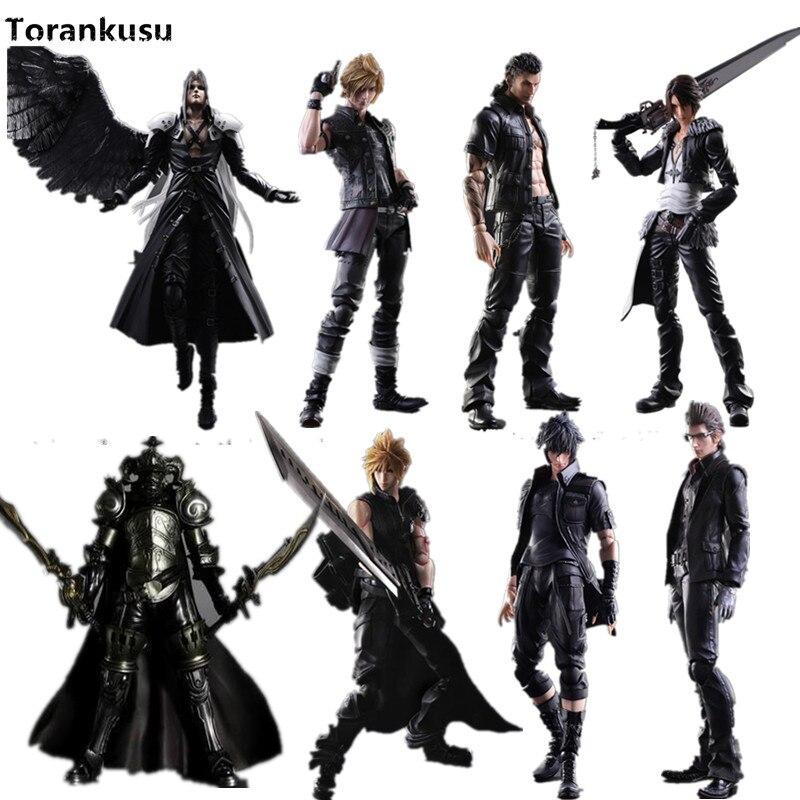 Final Fantasy Jouer Arts Kai Figurine 250mm Nuage Sephiroth Grain D'anime DE PVC Jouet Modèle De Collection Figurine Jouer Arts Kai