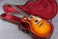 LPaul LP 1959 R9 Tiger Flame Les Electric Guitar With Chrome Hardware Maple Body LP Standard