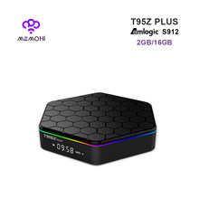 MEMOBOX T95Z PLUS Amlogic S912 Android TV BOX 2G 16G 64 Bits octa base Android 7.1 Bluetooth4.0 2.4G/5G WiFi 4 K 17.0 Set-top box(China)