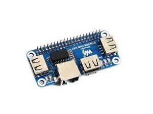Image 2 - Waveshare Ethernet/USB HUB HUT für Raspberry Pi 1x RJ45 Ethernet Port 3x USB Ports 5V