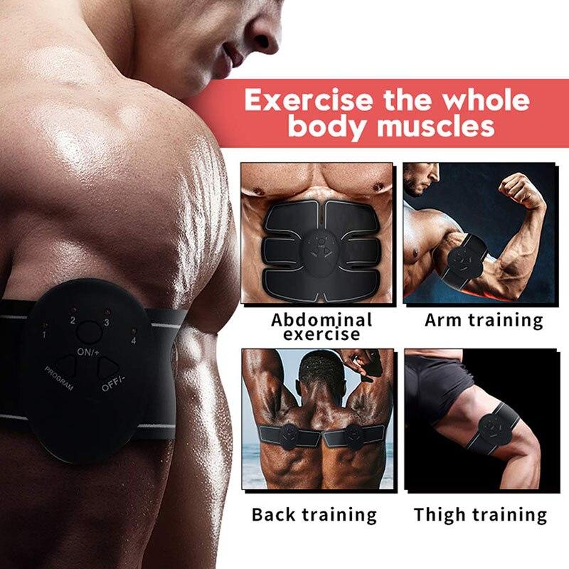 Muscle Stimulator EMS Massager Abdominal Muscle Trainer Electrostimulation Hip Trainer Abdomen Arm Exercise Machine Gym Equiment 2