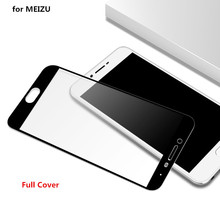 Full Cowl Tempered Glass for Meizu M5 Be aware MEIZU M5 meizu M3 notice m5s Display Protector Movie 9H Nano Coating protecting glass
