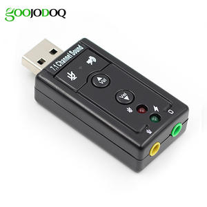 Sound-Card Headphone Audio-Adapter Win Usb-To-Jack Android Mac External Linux 7