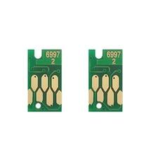 2pcs T6997 maintenance waste cartridge chip for Epson P8000 P8070 P9000 P9070 P6000 P6070 P7000 P7080 tank