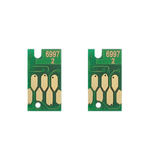 цена на 2pcs T6997 maintenance waste cartridge chip for Epson P8000 P8070 P9000 P9070 P6000 P6070 P7000 P7080 maintenance tank chip