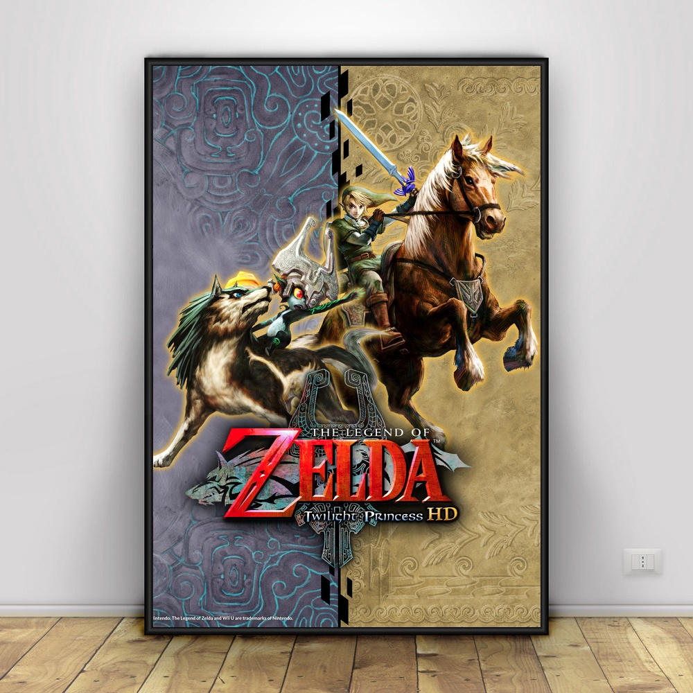 The Legend Of Zelda Art Silk Wall Promo Poster Home Decor