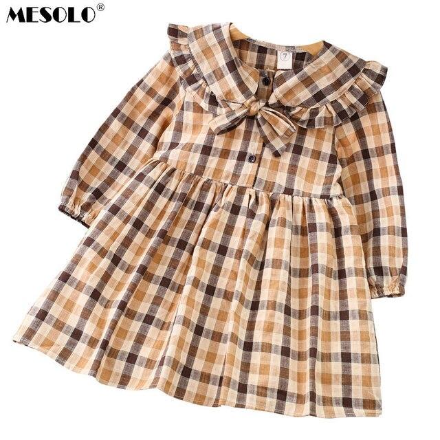 0b27d103e MESOLO Korean children s clothing 2018 Autumn New Vintage college ...